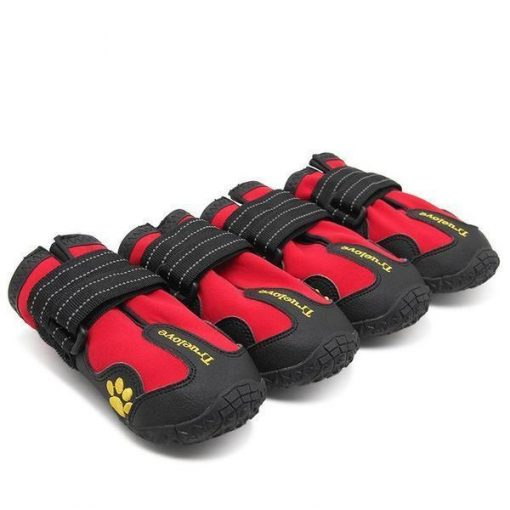 "Anti-mud Dog Shoes | Amazing Shoes for Your Lovely Pooch!! GlamorousDogs 1# (1.30""x1.54) Red"