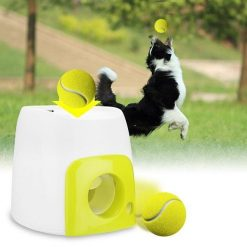 Automatic Ball Launcher | Keep Dogs Active & Entertained Outdoor Toy Stunning Pets