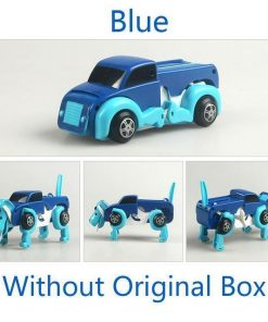 Automatic Transform Dog Car Stunning Pets 1 pcs Bule