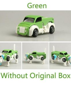 Automatic Transform Dog Car Stunning Pets 1 pcs Green