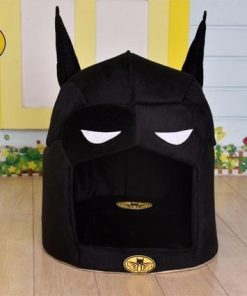 Batman's Dog House| Super Hero Dog Bed Stunning Pets Black L