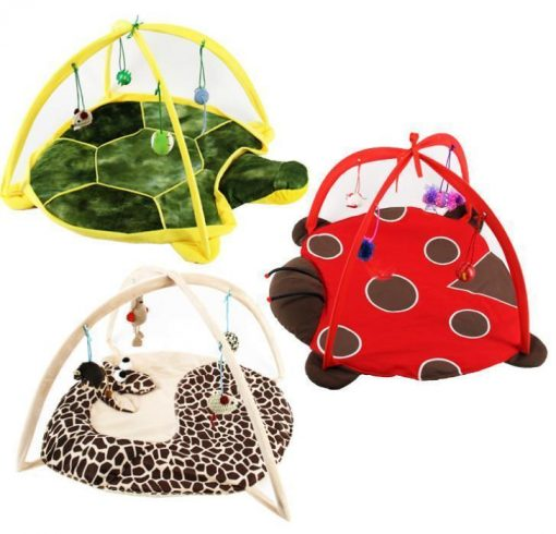 Bed Tent with Toys for Cats Stunning Pets