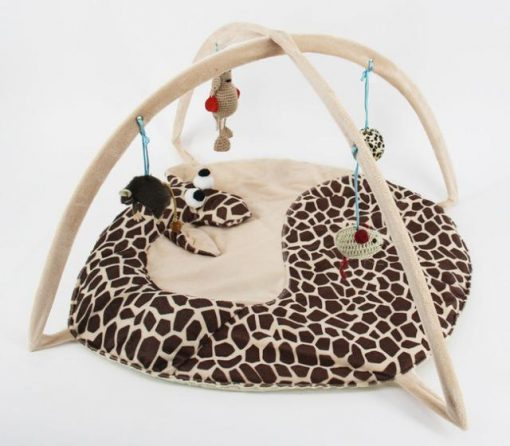Bed Tent with Toys for Cats Stunning Pets Black M