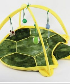 Bed Tent with Toys for Cats Stunning Pets Green M