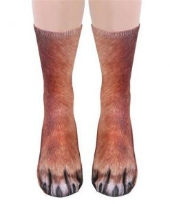 Realistic Animal Paw Socks