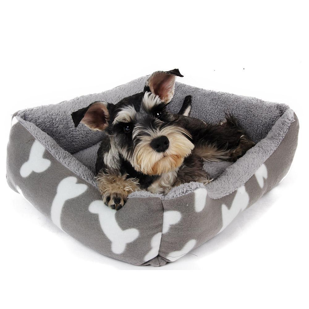 Bone Pattern Inspired Pet Bed Stunning Pets
