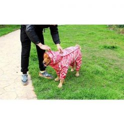 CAMOUFLAGE™: A Protective Rain Coat With A Unique Look For Your Dog GlamorousDogs