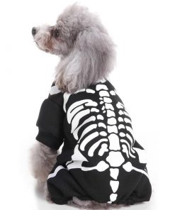 Casual Canine Glow Bones Dog Skeleton Pet Costume Halloween costume Idefun Store