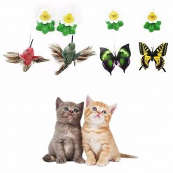 Cat Butterfly Toy Fun Stunning Pets