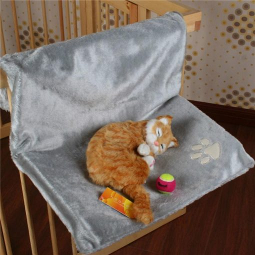 Cat Cradle Hammock with Adjustable Holding Device Stunning Pets