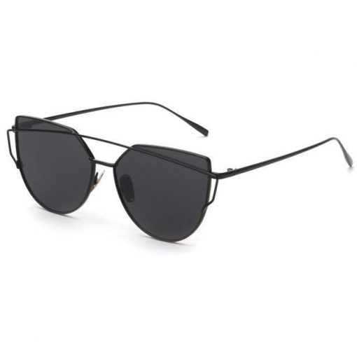 Cat Eye Elegant Sunglasses Stunning Pets black