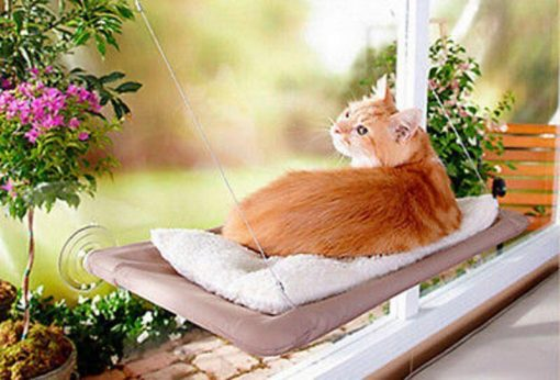 Cat Hammock Window Mounted Bed Sofa Mat Cushion Hanging Shelf Seat with Suction Glamorous Dogs Shop - Glamorous Accessories for Your Dog + FREE SHIPPING