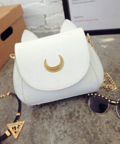 Cat Luna Moon Bag Glamorous Dogs Shop - Glamorous Accessories for Your Dog + FREE SHIPPING White Brand Bag