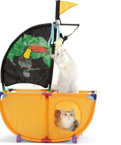 Cat Pirate Ship | Amazing Full of Excitement Toy for Cats High Ticket GlamorousDogs