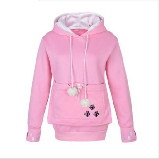 Cat Pouch Hoodie| Cat Pouch Sweater Outfit Stunning Pets S Pink