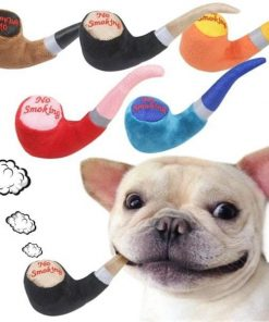Chew Pipe Shaped Squeaky Plush Toy for Pets Dog Toy Cozy Living Store