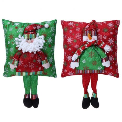 Christmas 3D Pillow Santa Claus With Legs Stunning Pets