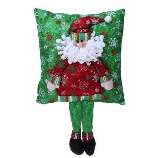Christmas 3D Pillow Santa Claus With Legs Stunning Pets Red