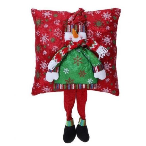Christmas 3D Pillow Santa Claus With Legs Stunning Pets White