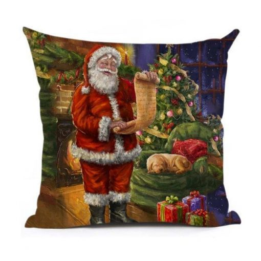 Christmas Decoration Cushion Cover Stunning Pets 43x43cm 11