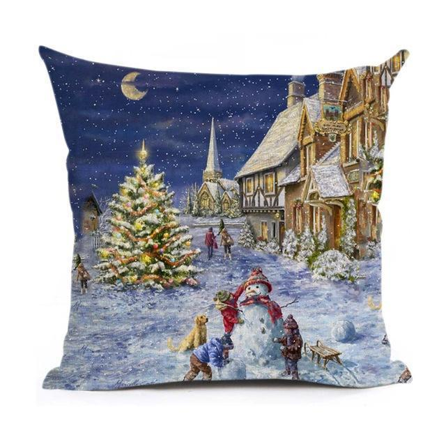Christmas Decoration Cushion Cover Stunning Pets 43x43cm 12