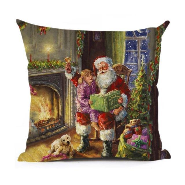 Christmas Decoration Cushion Cover Stunning Pets 43x43cm 18