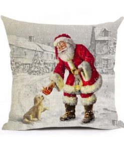 Christmas Decoration Cushion Cover Stunning Pets 43x43cm 19