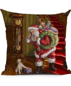 Christmas Decoration Cushion Cover Stunning Pets 43x43cm 20