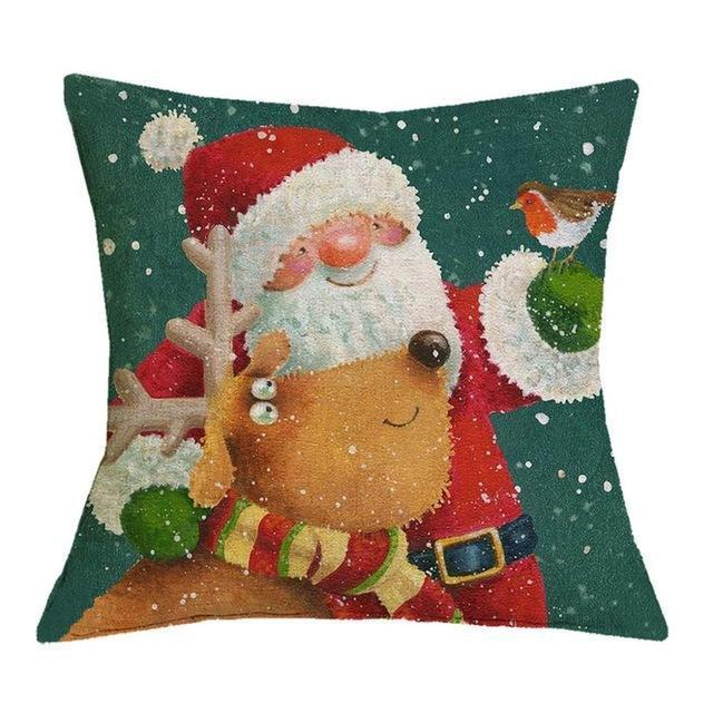 Christmas Decoration Cushion Cover Stunning Pets 43x43cm 21