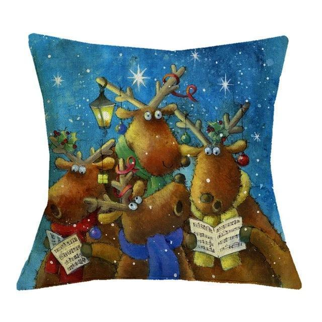 Christmas Decoration Cushion Cover Stunning Pets 43x43cm 22