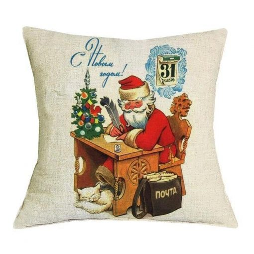 Christmas Decoration Cushion Cover Stunning Pets 43x43cm 23