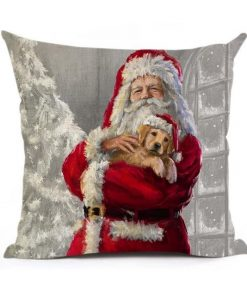 Christmas Decoration Cushion Cover Stunning Pets 43x43cm 4