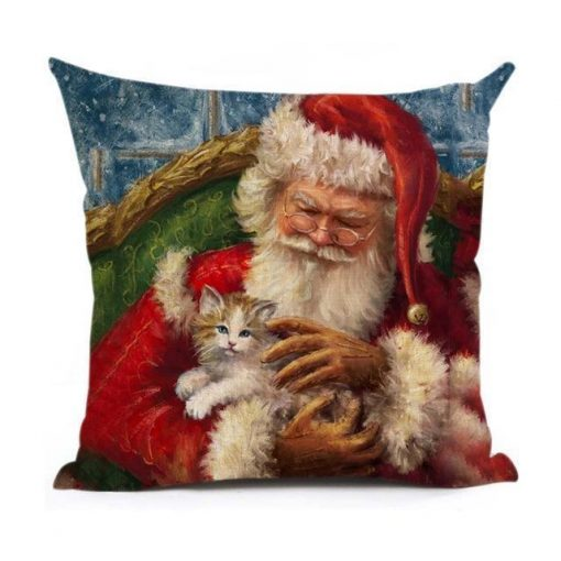 Christmas Decoration Cushion Cover Stunning Pets 43x43cm 6