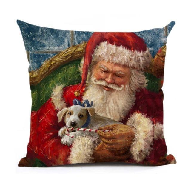 Christmas Decoration Cushion Cover Stunning Pets 43x43cm 7