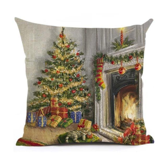 Christmas Decoration Cushion Cover Stunning Pets 43x43cm 8