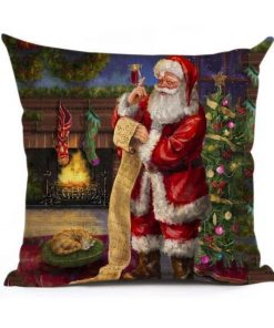 Christmas Decoration Cushion Cover Stunning Pets 43x43cm 9