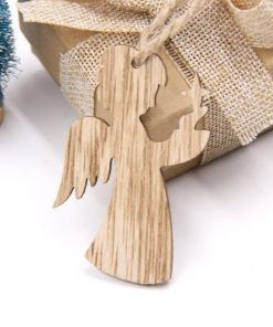 Christmas Decorations, Snowflakes, Deer&Tree Wooden Pendants Ornaments Stunning Pets Angel