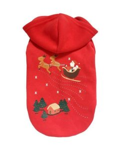 Christmas Winter Santa Jumpsuit Stunning Pets