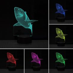 Colorful 3D Light Stunning Pets