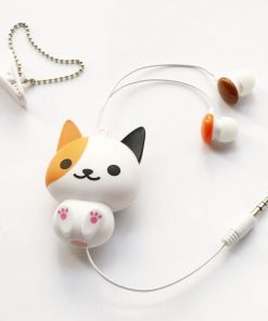 Colorful Cute Cartoon Earphone Stunning Pets