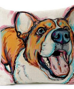 Colorful Pet Lover Cushion Stunning Pets 10