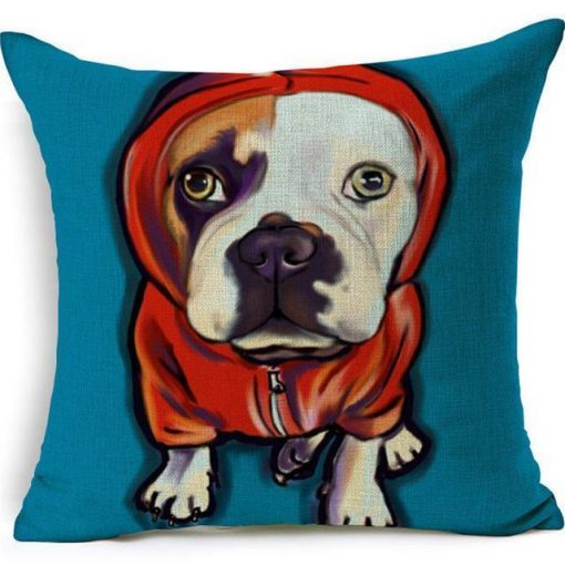 Colorful Pet Lover Cushion Stunning Pets 15