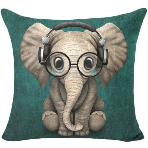 Colorful Pet Lover Cushion Stunning Pets 16