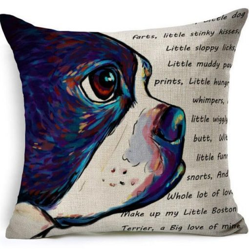 Colorful Pet Lover Cushion Stunning Pets 3