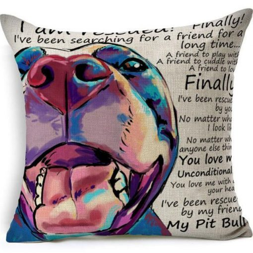 Colorful Pet Lover Cushion Stunning Pets 4