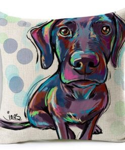 Colorful Pet Lover Cushion Stunning Pets 9