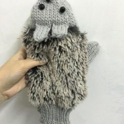 Colors Hedgehog Gloves Stunning Pets gray