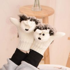 Colors Hedgehog Gloves Stunning Pets white