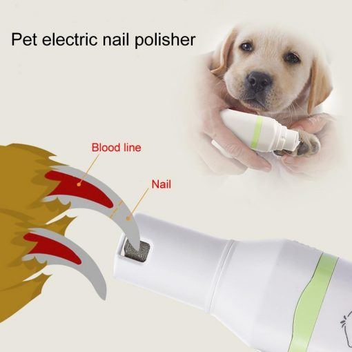 COMBOGROOMER™:2 in 1 Pet Hair Trimmer & Nail Grinder grooming GlamorousDogs
