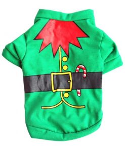 COOKIETESTER™: Adorable Christmas Costume for Dogs GlamorousDogs Elf XS